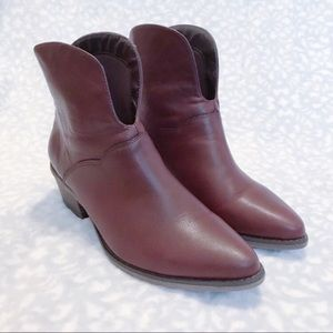 Gee Wawa Boots Texas Brown Western Bootie Anthro
